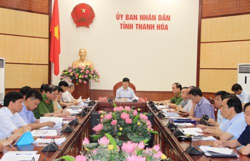 Hội nghị trực tuyến về tăng cường quản lý Nhà nước đối với hoạt động khai thác, kinh doanh tài nguyên cát, sỏi.