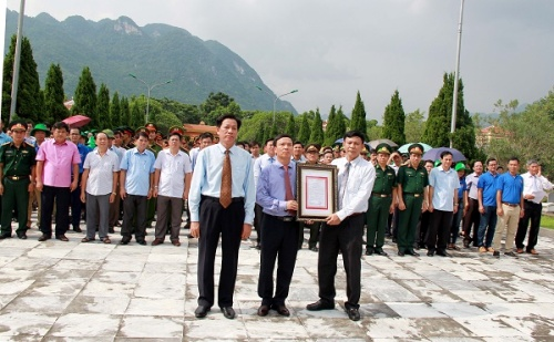 Đổi tên Nghĩa trang Liệt sĩ Bá Thước thành Nghĩa trang Liệt sĩ Quốc tế Đồng Tâm.