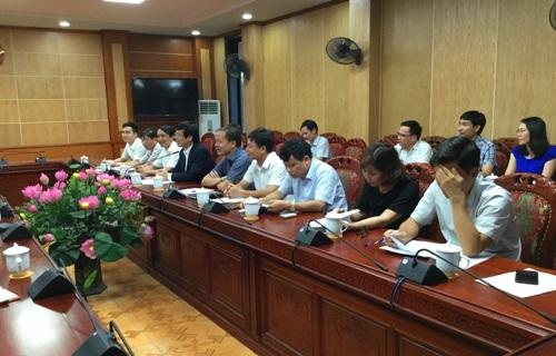 Chủ tịch UBND tỉnh Nguyễn Đình Xứng tiếp và làm việc với Tổ hợp nhà đầu tư và các Ngân hàng về Dự án Nhà máy Nhiệt điện BOT Nghi Sơn 2.