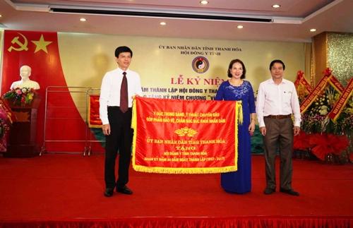 Kỷ niệm 60 năm thành lập Hội Đông y tỉnh Thanh Hóa.