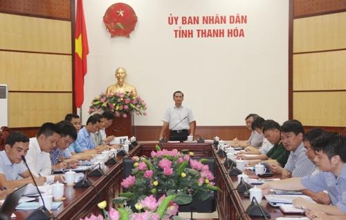 UBND tỉnh họp nghe Quy hoạch phân khu, tỷ lệ 1/2000 đô thị du lịch hai bên tuyến đường ven biển.