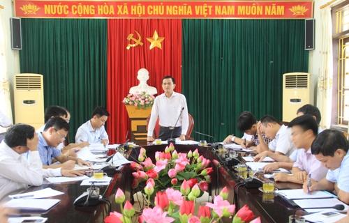 Tháo gỡ khó khăn cho một số dự án trọng điểm tại TP. Sầm Sơn.