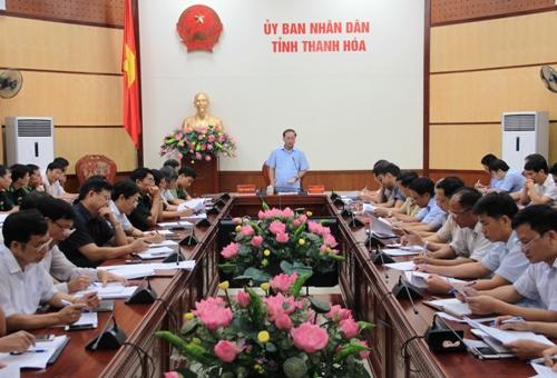 Phó Thủ tướng Trịnh Đình Dũng chủ trì hội nghị khẩn cấp ứng phó bão số 10.