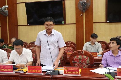 UBND tỉnh họp Phiên thường kỳ tháng 9 năm 2017.
