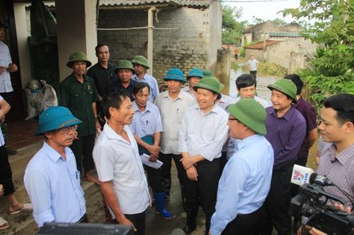 Phó Thủ tướng Chính phủ Phạm Bình Minh làm việc tại Thanh Hóa.