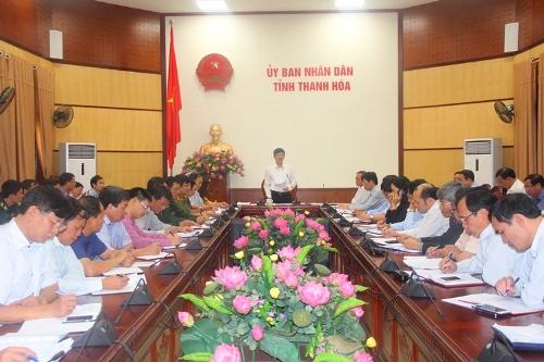 Hội nghị nghe báo cáo tình hình thiệt hại do mưa lũ, công tác khắc phục và chính sách hỗ trợ cho các địa phương bị thiệt hại.
