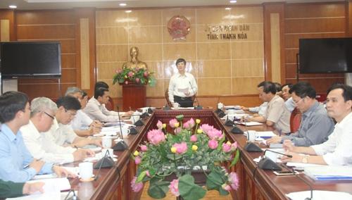 Thường trực UBND tỉnh thảo luận, cho ý kiến về một số nội dung, đề án quan trọng.
