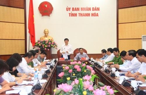Thứ trưởng Bộ Y tế làm việc tại Thanh Hóa.