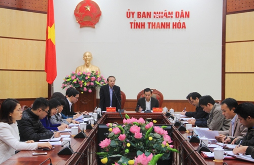 Đoàn công tác của Tổng Liên đoàn LĐVN làm việc tại Thanh Hóa.