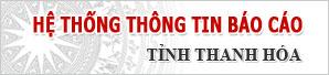 Hệ thống thông tin báo cáo tỉnh Thanh Hóa