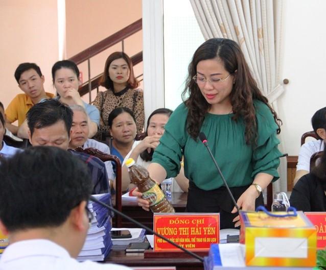 Hội nghị đánh giá, xếp hạng sản phẩm OCOP tỉnh Thanh Hóa đợt I năm 2021.